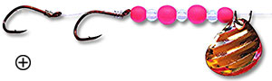 Pink Thunder Matching Lure for Dodgers