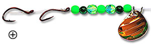 Copper King Emerald Green Lure for Dodgers